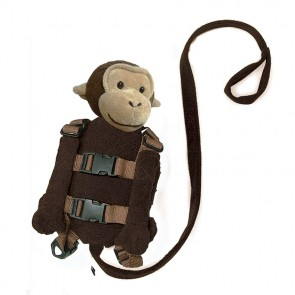 2-In-1 Harness Buddy Monkey