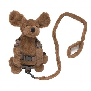 2-In-1 Harness Buddy Fluffy Dog