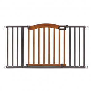 Decorative Wood & Metal Gate