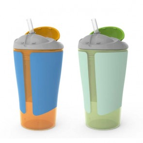 10oz. Straw Cup - 2 Pack Boy
