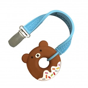 Mini Bear Teether & Strap Set