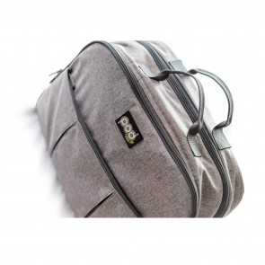 Grey Linen Pod Bag