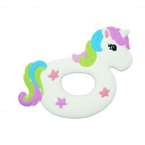 Unicorn Silicone Teether Toy
