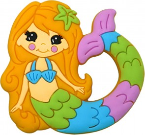 Mermaid Silicone Teether Toy
