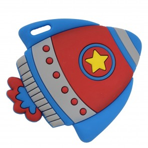 Rocket Silicone Teether Toy