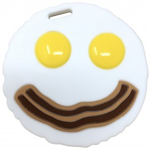Eggs & Bacon Teether Toy