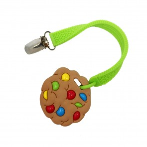 Mini Cookie Teether &Strap Set