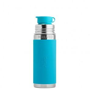 9oz/260ml Insulated Sport Bottle w/Aqua Sleeve