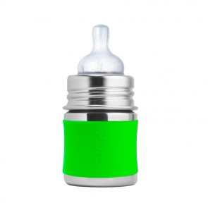 5oz/150ml Infant Bottle w/Green Sleeve