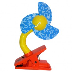 Clip on Fan - Blue blades