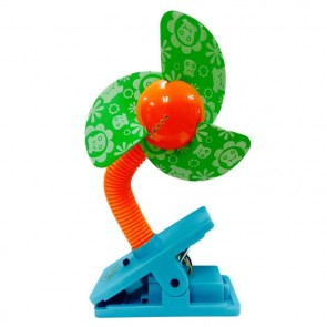 Clip on Fan - Green blades