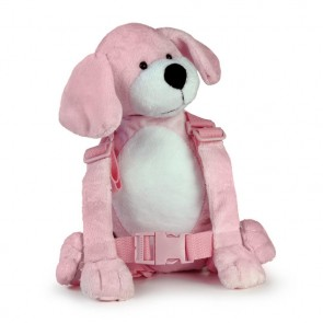 2-In-1 Harness Buddy Pink Puppy