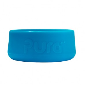 Silicone Bottle Bumper, Short, Ocean Blue