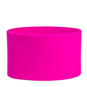 Short Silicone Sleeve, Pink